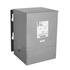 GE Industrial 9T21B1005G02 Transformer, Dry Type, 7.5kVA, 240/480V Primary, 120/240V Secondary