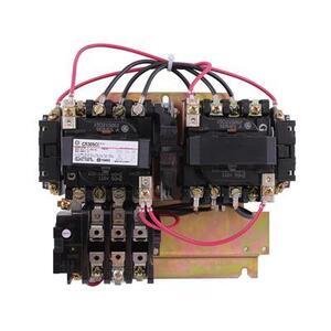 GE Industrial CR309C002 Starter, Reversing, NEMA Size 1, 27A, 600VAC, 115-120VAC Coil, Open