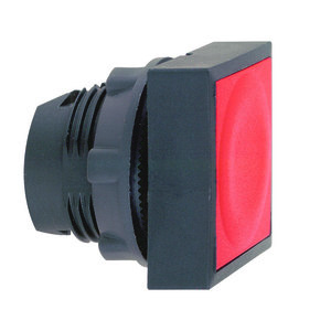 Telemecanique Sensors ZB5CA4 Push Button, Square, Flush Red, 22.5mm, Operator Only