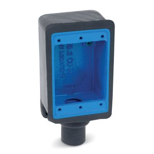 "Ocal FD2-G FD Device Box, 1-Gang, Dead-End, 3/4"", PVC Coated Iron"