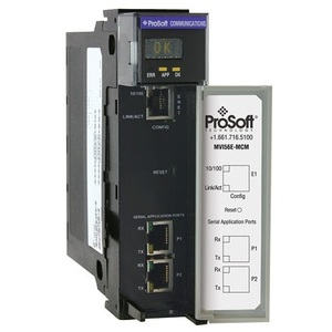 Prosoft Technology MVI56E-MCM Communications Module, Modbus, ControlLogix, Enhanced Interface