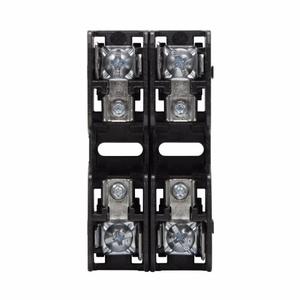 Eaton/Bussmann Series BCM603-2PQ Fuse Block, 2P, 30A, 600V AC/DC, Class CC, Quick Connect, 200kAIC