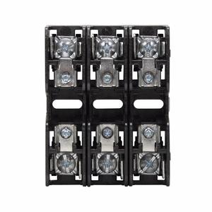 Eaton/Bussmann Series BCM603-3PQ Fuse Block, 3P, 30A, 600V AC/DC, Class CC, Quick Connect, 200kAIC