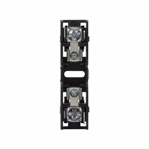 Eaton/Bussmann Series BMM603-1PQ Fuse Block, 1P, 30A, 600V AC/DC, 10 x 38mm, Quick Connect, 200kAIC