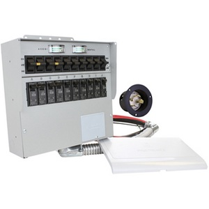 Reliance Controls A310A Transfer Switch, 30A, 1PH, 120/240VAC, NEMA 1