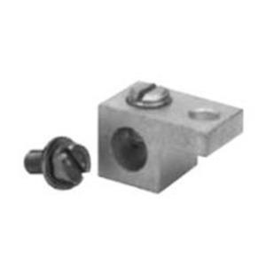 GE Industrial TLK20 Neutral/Ground Lug Kit, 6AWG-2/0AWG, Cu/Al