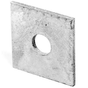 "PPC Insulators 6330 Square Washer, 5/8"", Hot Dipped Galvanized"