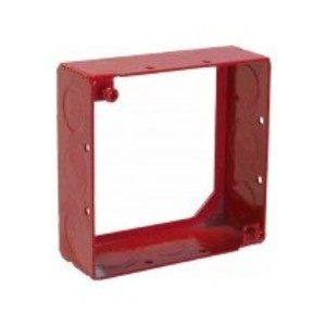 """Orbit Industries FA-4SB-MKO-EXT 4"""" Square, Red Extension Ring, Welded, Steel"""