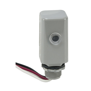 Intermatic EK4136S LED Photocell, 6A, 105-305V
