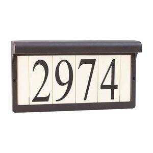 Sea Gull 9600-71 Address Light 16V 5 watt Antique Bronze Address Light in Standard
