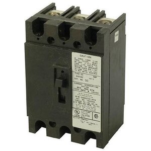 Eaton CC3100 Breaker, 100A, 3P, 240V, 10 kAIC, Type CC, Bolt On
