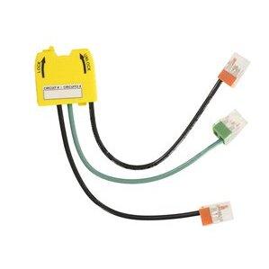 Leviton MSPSW-WST Wiring Module, Lev-Lok Series, 20A, 347V AC, Yellow