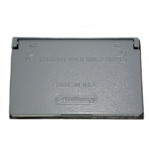 Mulberry Metal 30451 Weatherproof Cover, 1-Gang, Type: GFCI/Decora, Horizontal, Die Cast