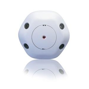Wattstopper WT-1105 Occupancy Sensor, Ultrasonic, Ceiling Mount, 360°, Two-Sided