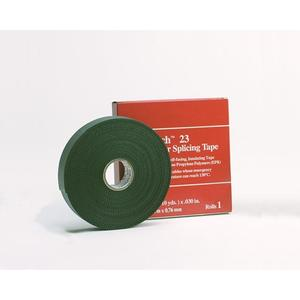 "3M 23-1.5X30FT High & Low Voltage Splicing Tape with Liner, 1-1/2"" x 30' Roll"