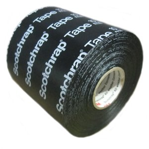"""3M 51-PRINTED-4X100FT Corrosion Protection Tape, 20 mil, Printed, 2"""" x 100'"""