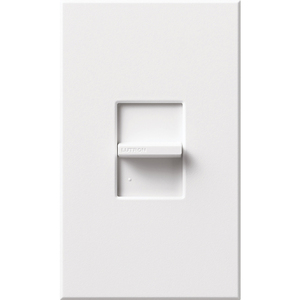 Lutron NTCL-250-WH Dimmer, Slide, LED/CFL, White