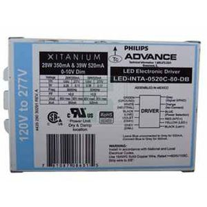 philips advance electronic led drivers