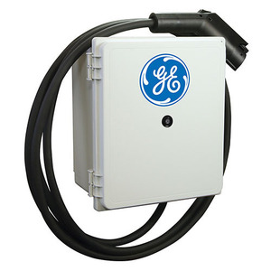 GE EVDSWGH-CP01 Residential Vehicle Charging Station, Level 2, Single Port, Wall Mount
