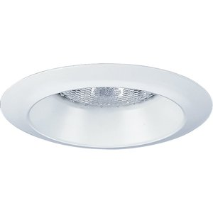 "Progress Lighting P8041-WL28 Wet Location Lensless Shower Trim, 4"", White"