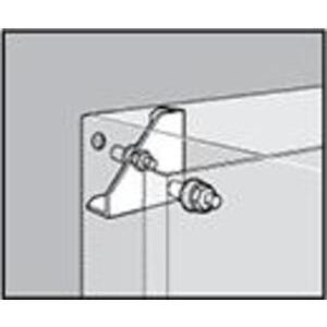 Hoffman CCPM4 Panel Conversion Kit, NEMA Panels to Concept Enclosures, Steel/Zinc