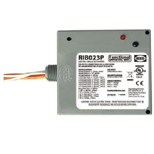 Functional Devices RIB023P ENCLOSED RELAY 20AMP 3PST N/O