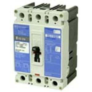 Eaton HFD3125L Breaker, 125A, 3P, 600V, 250 VDC, 65 kAIC, Type HFD, Line/Load Lugs