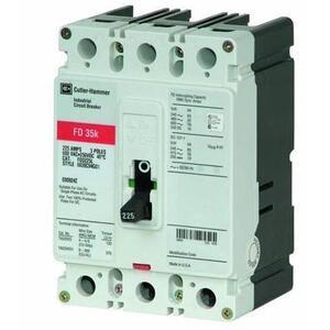 Eaton FD3080L 80A, 3P, 600V, 250 VDC, 35 kAIC, Type FD CB