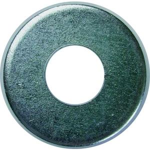 """Bizline R38FW188 Flat Washer, Stainless Steel, 3/8"""", Jar of 100"""
