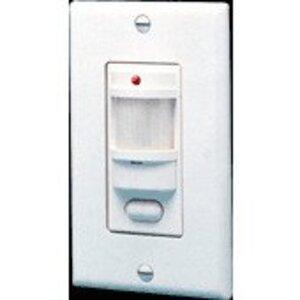 RAB LOS1000W/277 Motion Sensor, 180°, 1000W, 120V, White, 1000' Range