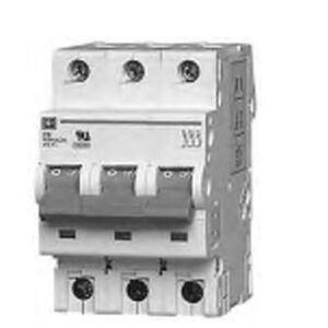 Eaton WMS3C50 Breaker, DIN Rail Mount, 50A, 3P, 480Y/277VAC, C Curve, 5kAIC
