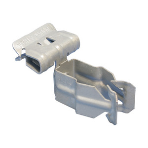 "Erico Caddy 8P24SM Conduit Clip, Flange Mount, Conduit: 1/2"", Flange: 1/8 to 1/4"""