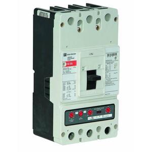 Eaton KD3400F Breaker Molded Case, 400A, 3P, 600V, 250 VDC, 35 kAIC, Type KD CB