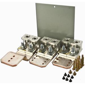 Eaton LUGKIT400 Main/Through-Feed Lug Kit, 400A, Al/Cu, 2-500MCM