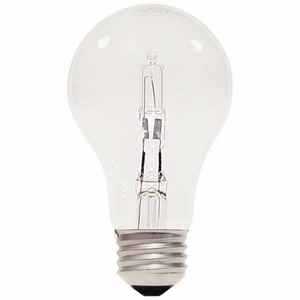 Satco S2402 SATCO S2402 43 Watt Halogen; A19; 1000 Average Rated Hours; 750 Lumens; Medium Base; 120 Volts
