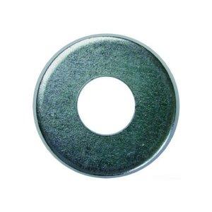 "Dottie FWBZ14US Flat Washer, Silicon Bronze, 1/4"", USA"