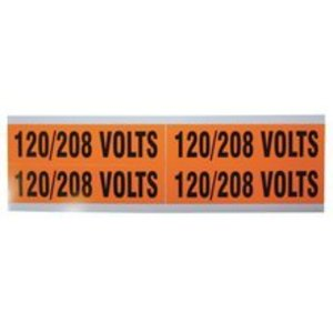 Ideal 44-296 Voltage Marker Cards, 120/280 Volts