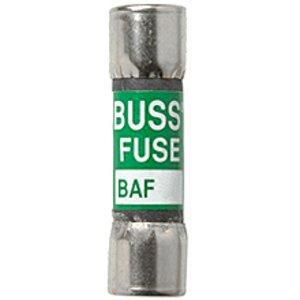 "Eaton/Bussmann Series BAF-8 Fuse, 1 Amp Fast-Acting Midget, Fibre, 13/32"" x 1-1/2"", 250V"