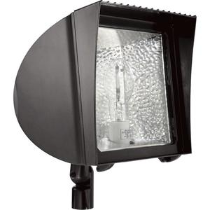 RAB FXH70QT Flexflood 70w Mh Qt Hpf With Arm And Lamp Bronze