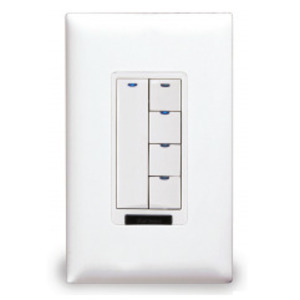 Wattstopper LMSW-105-W Digital Switch, 5-Button, Infrared, White