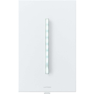 Lutron GT-250M-WH Dimmer, GRAFIK Eye, 250W, White