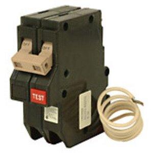 Eaton CH215GF Breaker, 15A, 2P, 120/240V, 10 kAIC, Type CH, GFCI