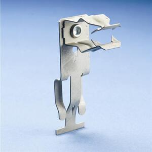 "Erico Caddy 8PATS Conduit Clip, 1/2"", Steel"