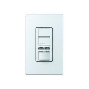 Lutron MS-A202-WH Occupancy Sensor Switch, Dual-Circuit