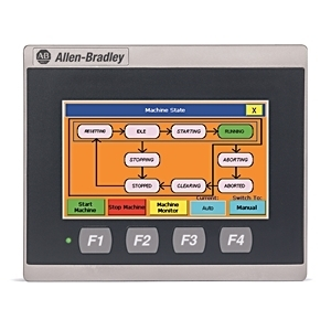 "Allen-Bradley 2711R-T4T Operator Interface, PanelView 800, 4.3"", HMI Terminal, Touch Screen TFT"