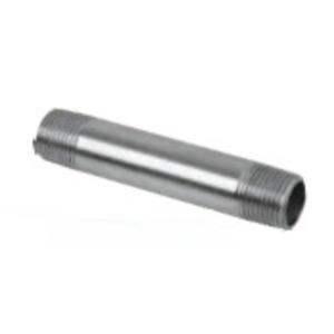 "Calbrite S41225CN00 Stainless Steel Rigid Nipple, Size: 1-1/4 x 2-1/2"""