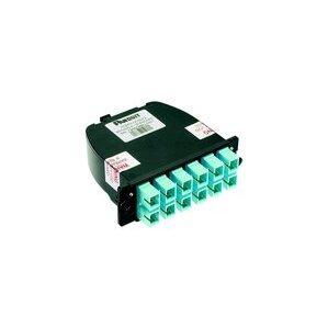 Panduit FC2XN-24-10AF Opticom LC Cassette, OM3 24-Fiber
