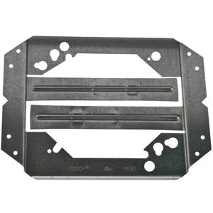 "Erico Caddy MEB1 Bracket For Electrical Box, Stud Wall Depth: 2-1/2 - 4"", Steel"