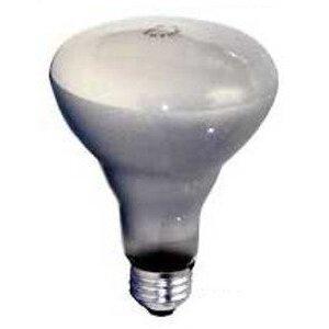 Damar 04820E Incandescent Reflector Lamp, BR30, 65W, 130V
