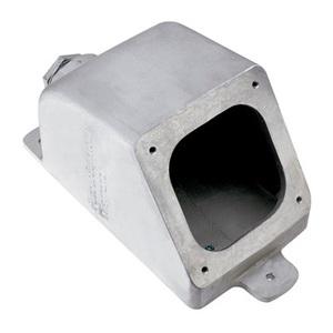 Pass & Seymour PSBB1001-W Back Box, Metallic, 1-1/2 Inch Hub, 100 Amp